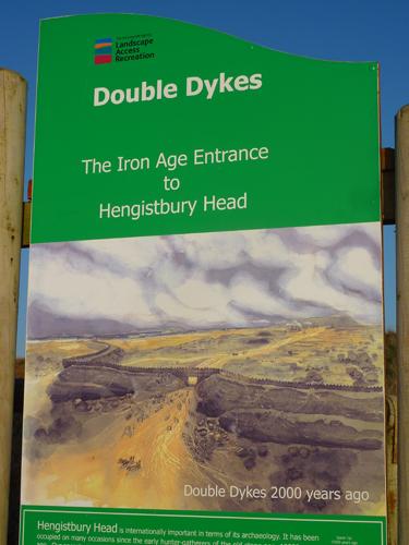 Hengistbury Head Iron Age Entrance