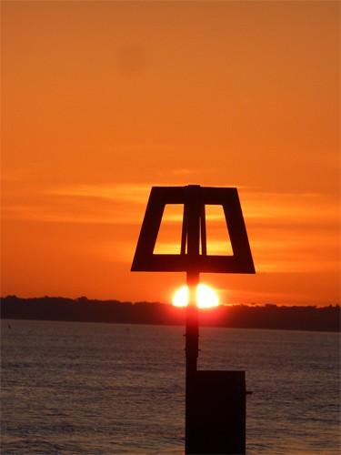 Groyne end sunset